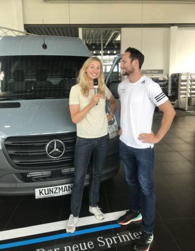 Mercedes Benz, Sportevent, 2018