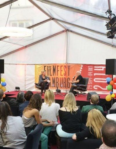 Klappe auf! Lars Becker, Filmfest Hamburg, 2014 copy