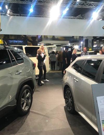 Messemoderation, Toyota, 2018
